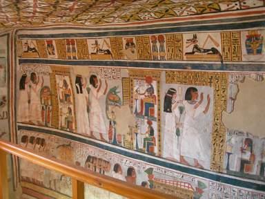 Роспись древнего храма