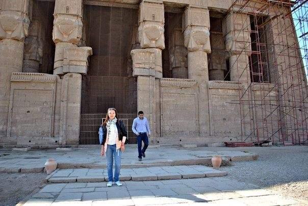 Древний храм в Египте