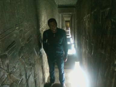 Роспись стен египетского храма