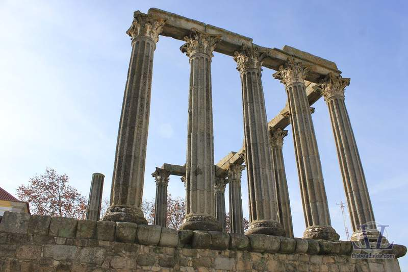 Руины храма Дианы