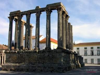 Эвора Храм Дианы