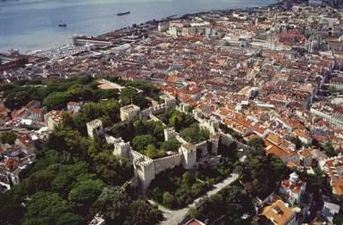 Лиссабон Крепость св. Георгия