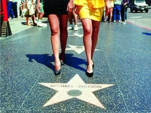 Лос-Анджелес -  Аллея звезд
