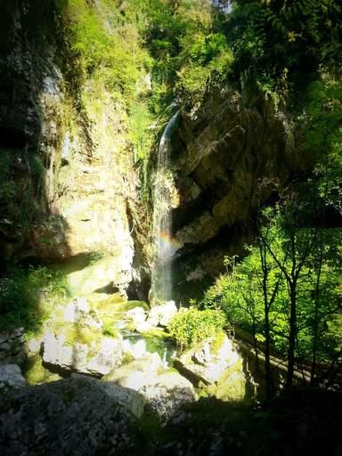 Водопад Пасть Черного Дракона