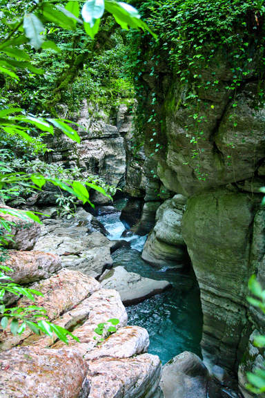 Каньон реки Псахо
