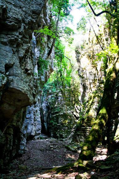 Скалы каньона