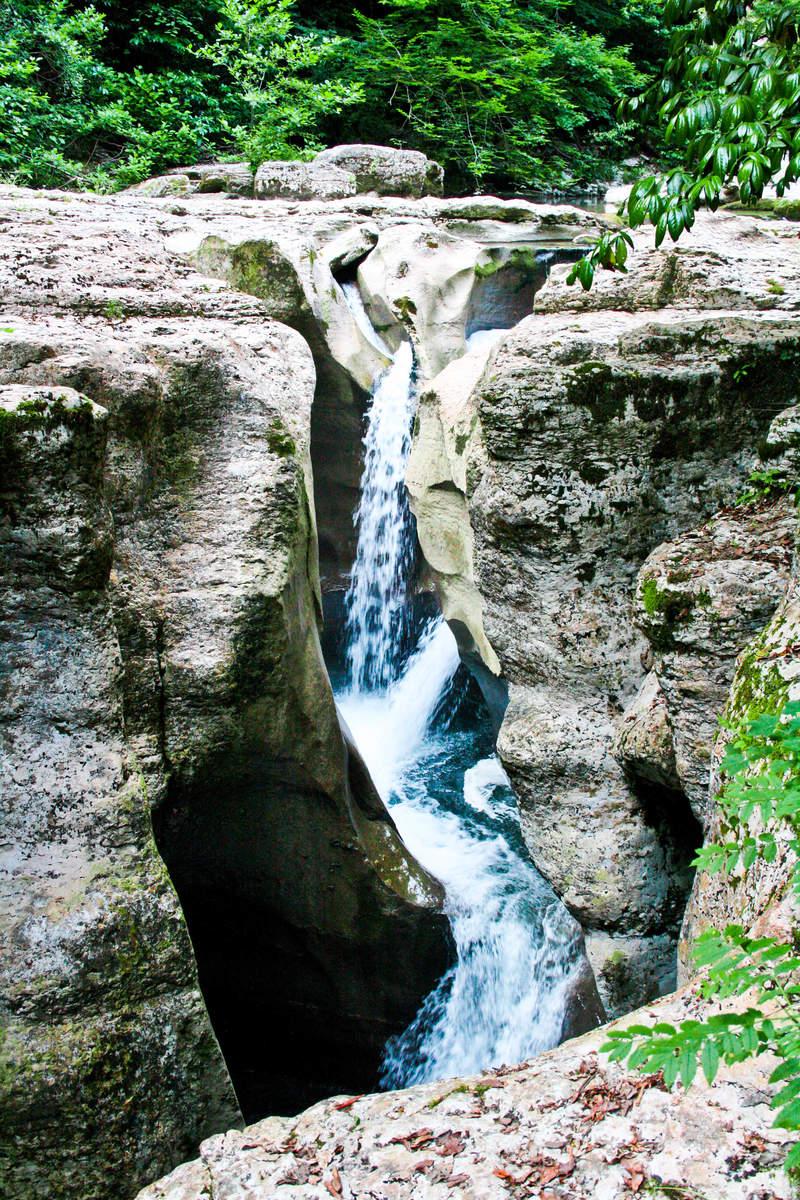 Водопад каньона