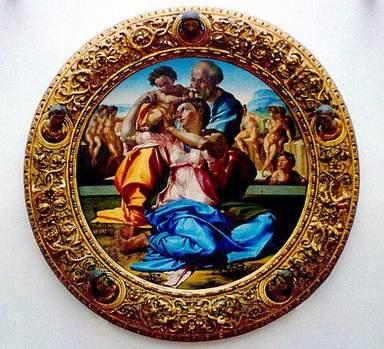 Экспонаты галереи Уффици