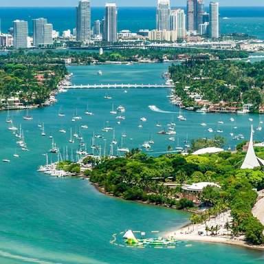 Пейзаж Майами