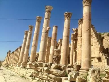 Древний город Джараш