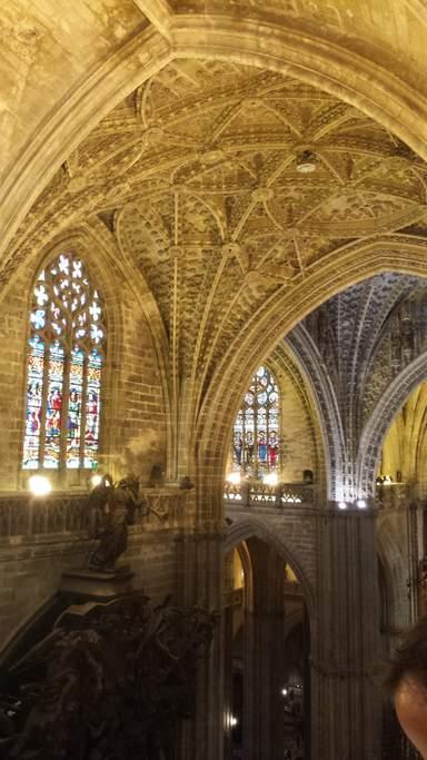 Конструкция сводов собора