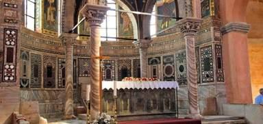 Роскошный интерьер Евфразиевой базилики