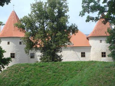 Бауский замок - резиденция курляндских герцогов