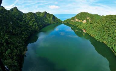 Озеро беременной Девы