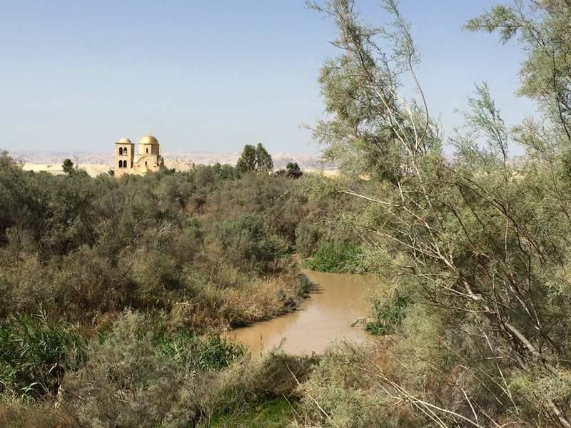 Долина р. Иордан близ монастыря св. Иоанна Предтечи