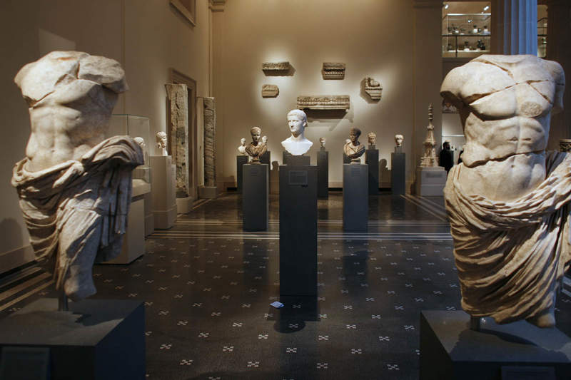 Греческие и римские галереи Метрополитен-музея