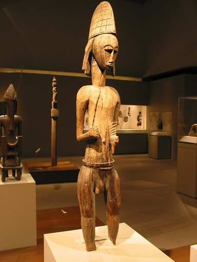 Африканское искусство в крыле им. Майкла Рокфеллера в Метрополитен-музее
