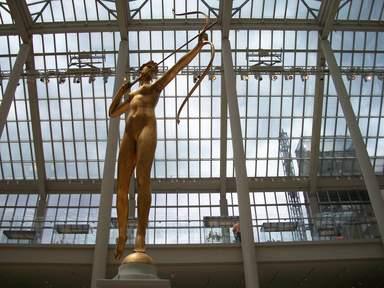 Американский дворик Метрополитен-музея