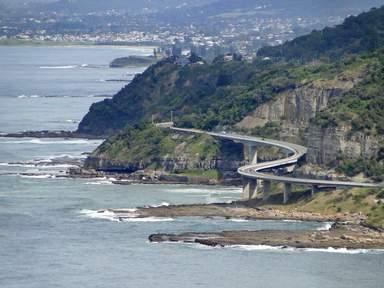 Мост морского обрыва