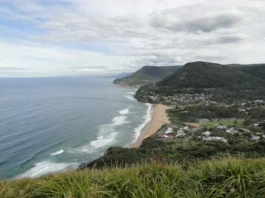 Пейзаж побережья