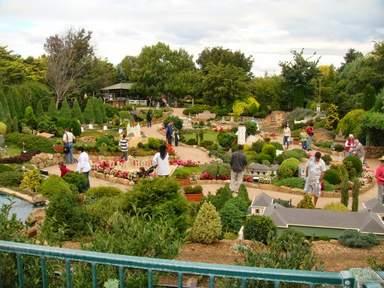 Садовый парк миниатюр