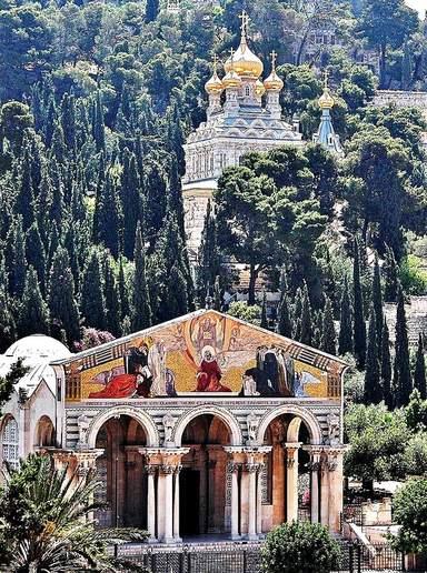 Церковь Всех наций и православная церковь Святой Марии Магдалины