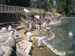 Ярденит на реке Иордан, место крещения Иисуса