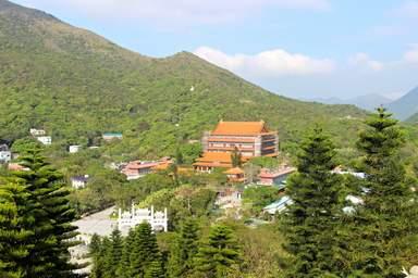 Монастырь в Гонконге