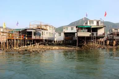 Рыбацкая деревня Тай О в Гонконге