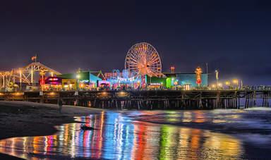 Парк развлечений в Санта-Монике