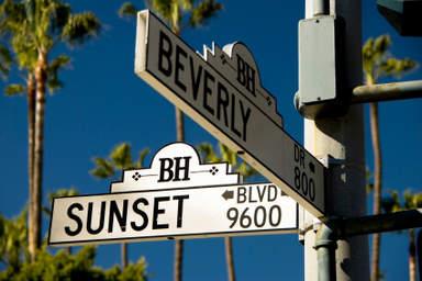 Бульвар Сансет в Лос-Анджелесе