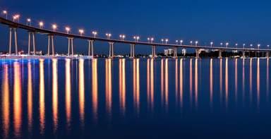 Мост Коронадо в Сан-Диего