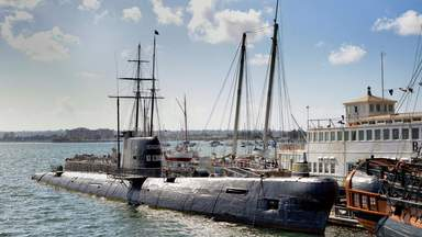 Морской музей в Сан-Диего