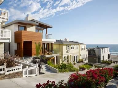 Недвижимость с видом на море в Лос-Анджелесе