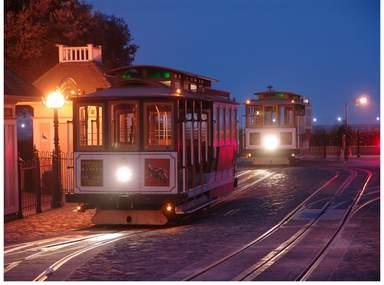 Кабельный трамвай - символ Сан-Франциско