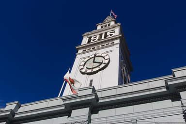 Часовая башня в Сан-Франциско