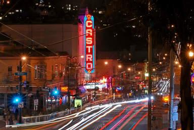 "Вывеска кинотеатра ""Castro Theatur"" в районе Кастро"