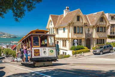 Кабельные трамваи в Сан-Франциско