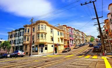 Красивые частные дома в Сан-Франциско