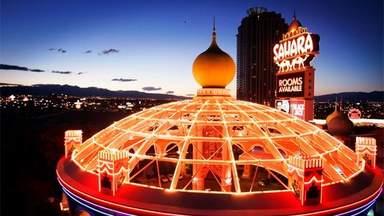 Крыша здания в Лас-Вегасе