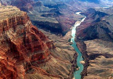 Река Колорадо в Гранд Каньоне
