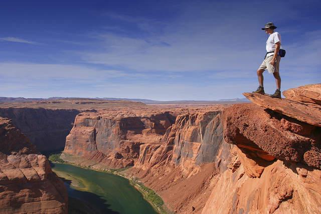 Вид Гранд Каньона сверху