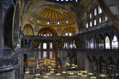 Центральный неф Софийского собора