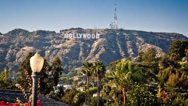 Знак Голливуда в Гриффит парке