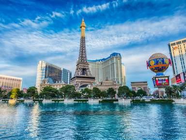 Зйфелевая башня отеля Paris в Лас-Вегасе