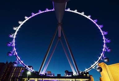 """Самое большое в мире колесо обозрения """"Хай Роллер"""" в Лас-Вегасе"""