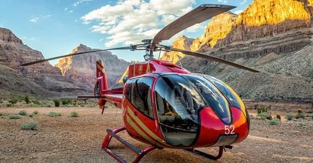 Вертолёт в Гранд Каньоне