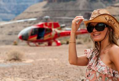 Вертолётная экскурсия в Гранд каньоне