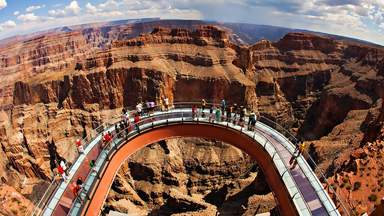 Смотровая площадка в Гранд каньоне