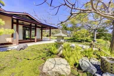 Японский сад в парке Бальбоа